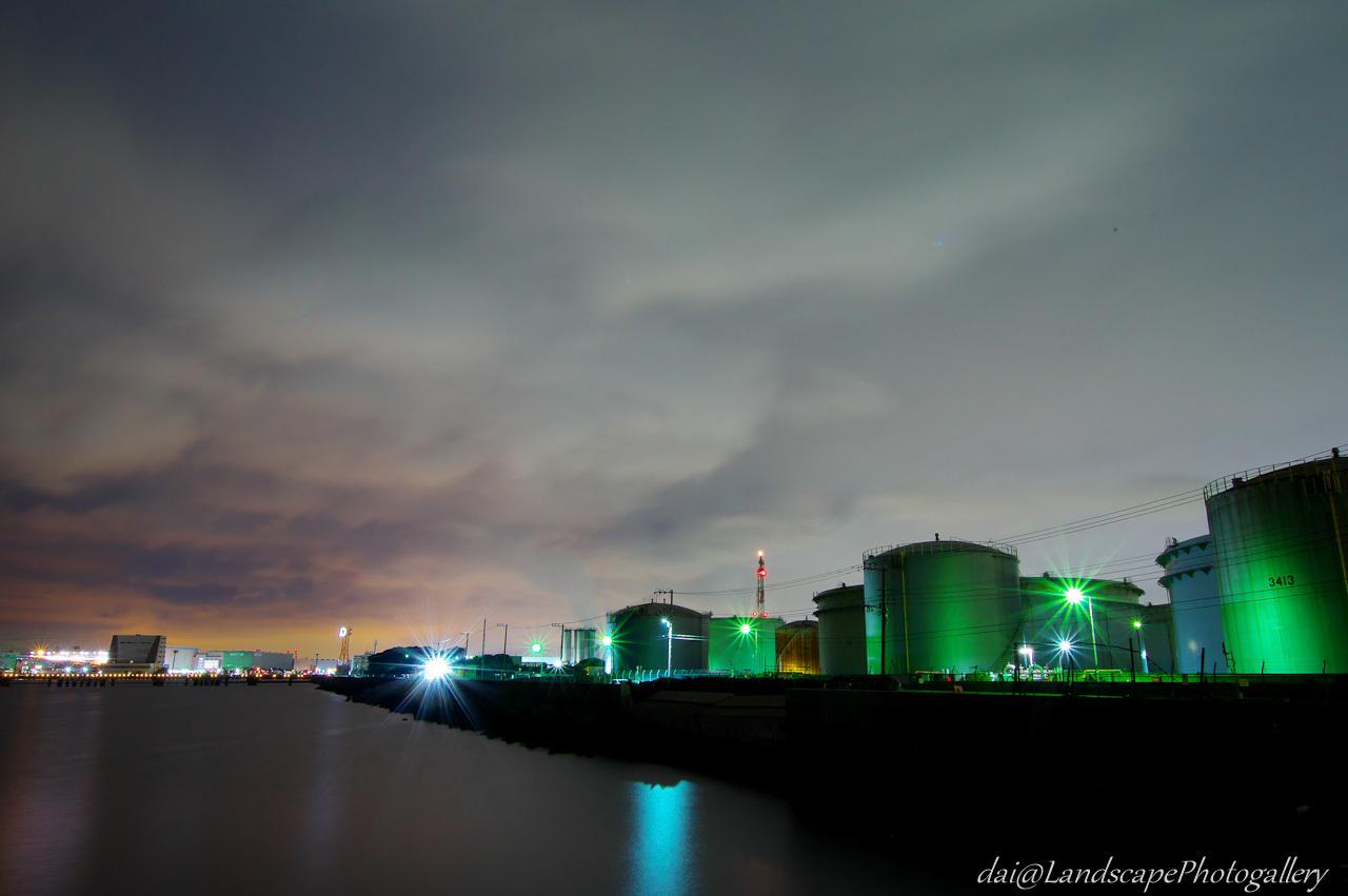 川崎港夜景