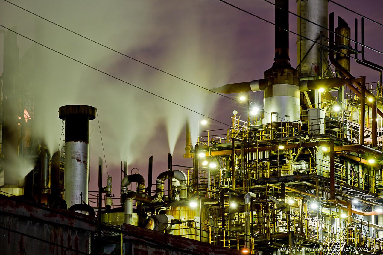 川崎浮島町工場夜景