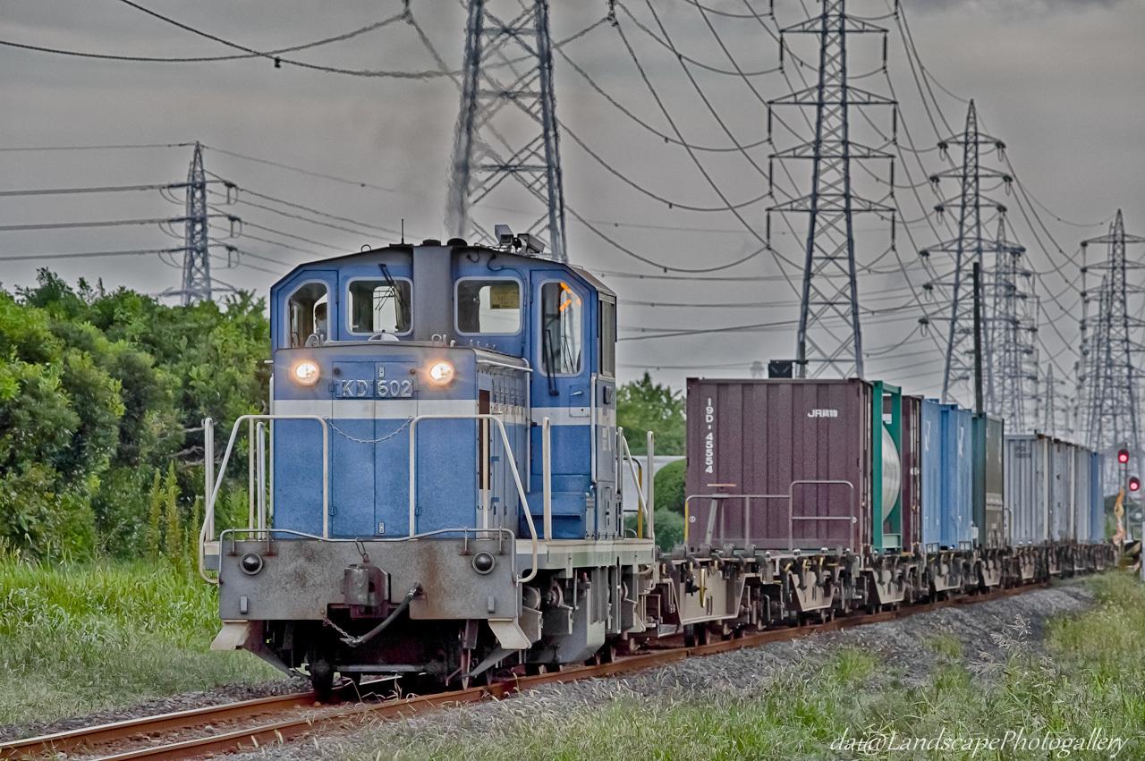 京葉臨海鉄道コンテナ列車【HDRi】