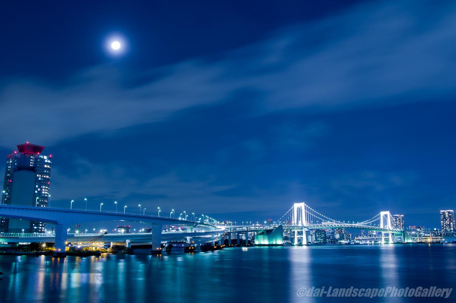 富士見橋夜景