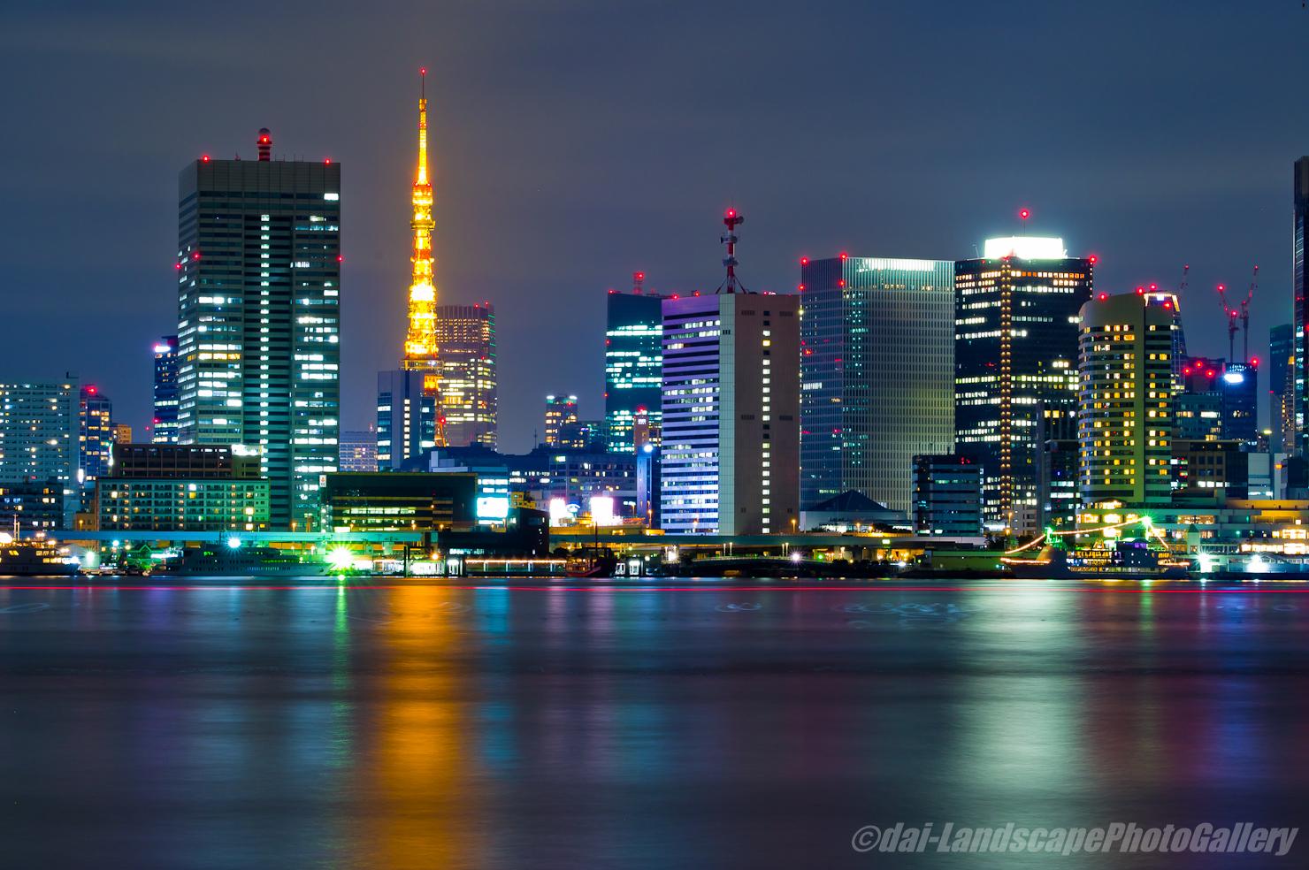 豊洲埠頭夜景