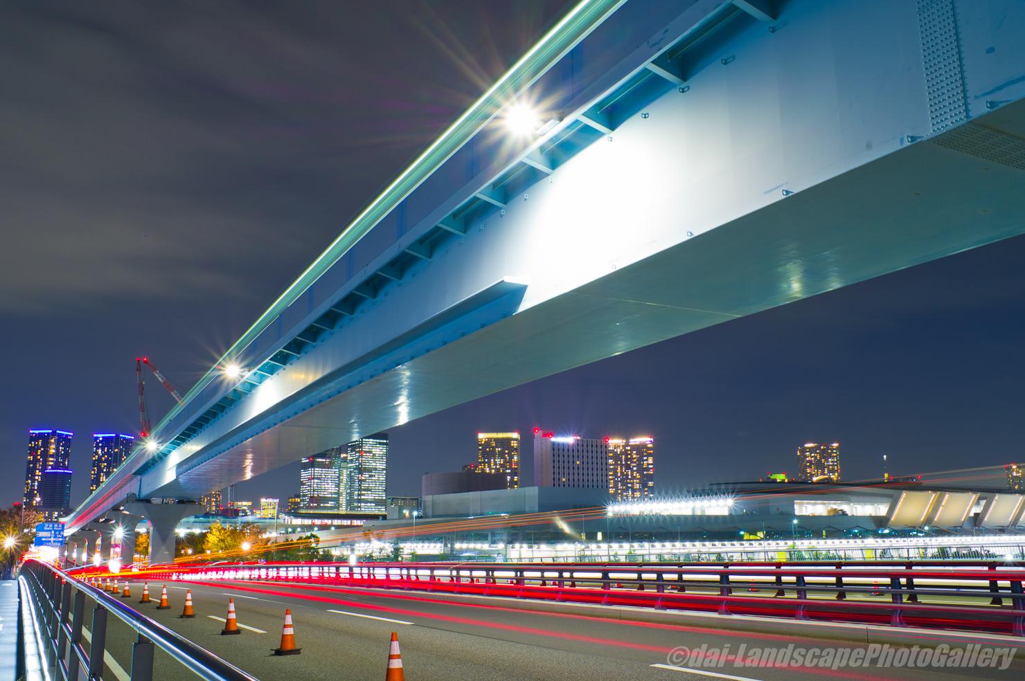 有明北橋夜景