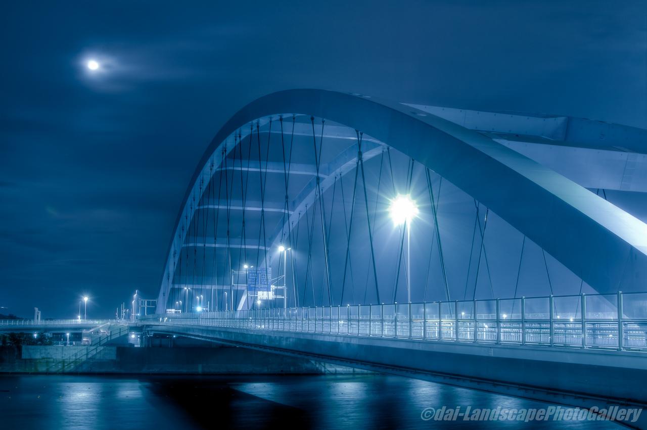 海の森大橋夜景【HDRi】