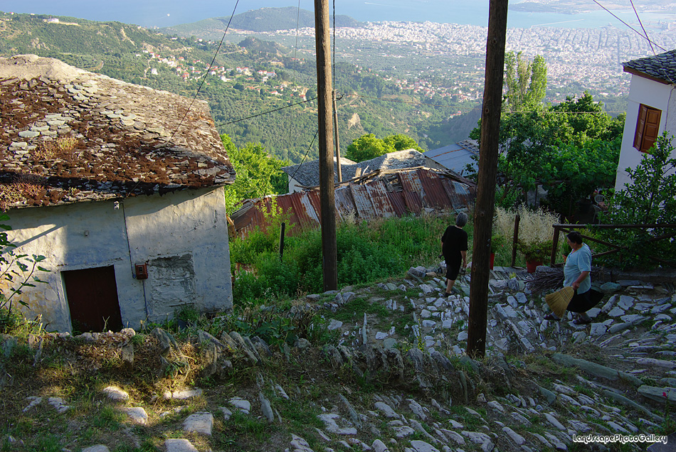 マクリニツァ村の風景4