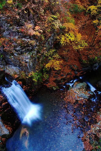 千ヶ淵の滝