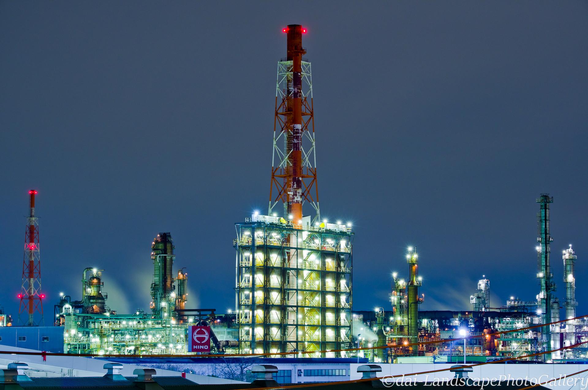 横浜工場夜景