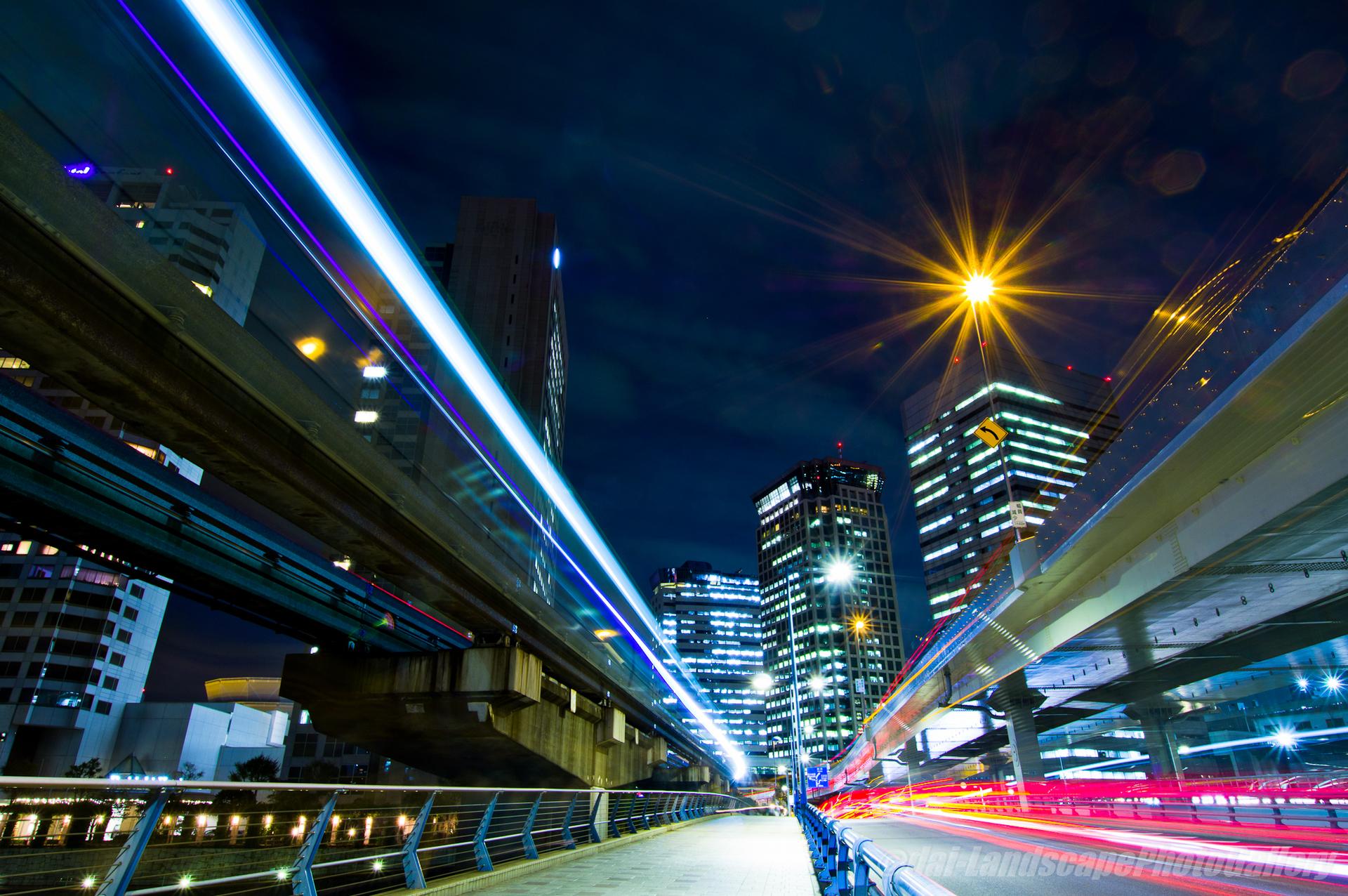 天王洲大橋夜景