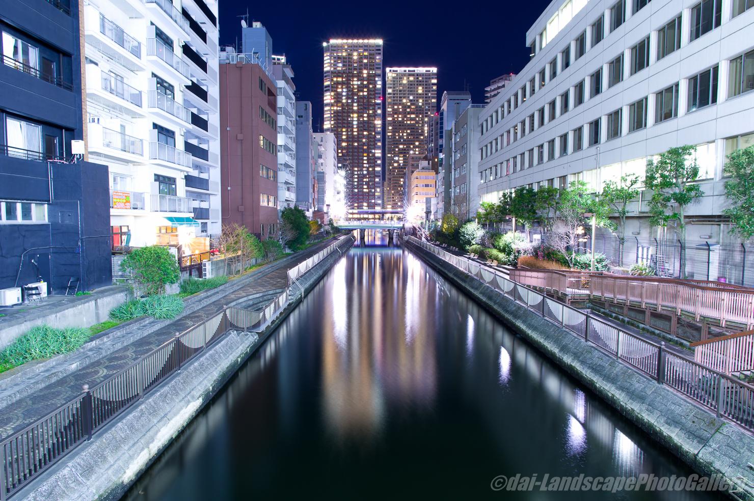 百代橋からの夜景