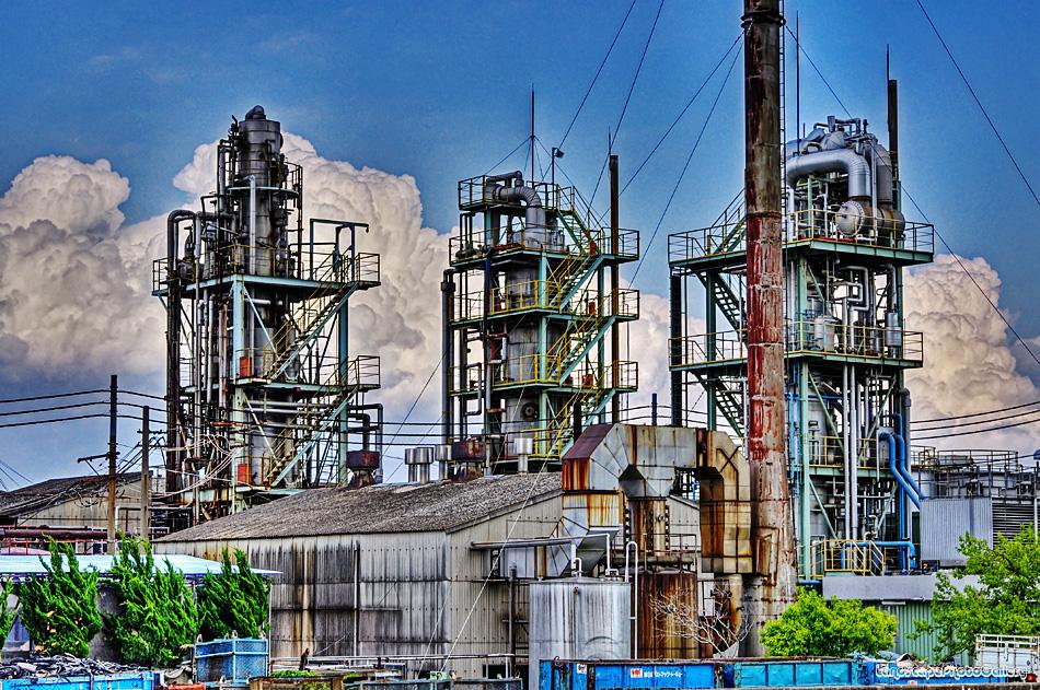 妙見島化学工場【HDRi】