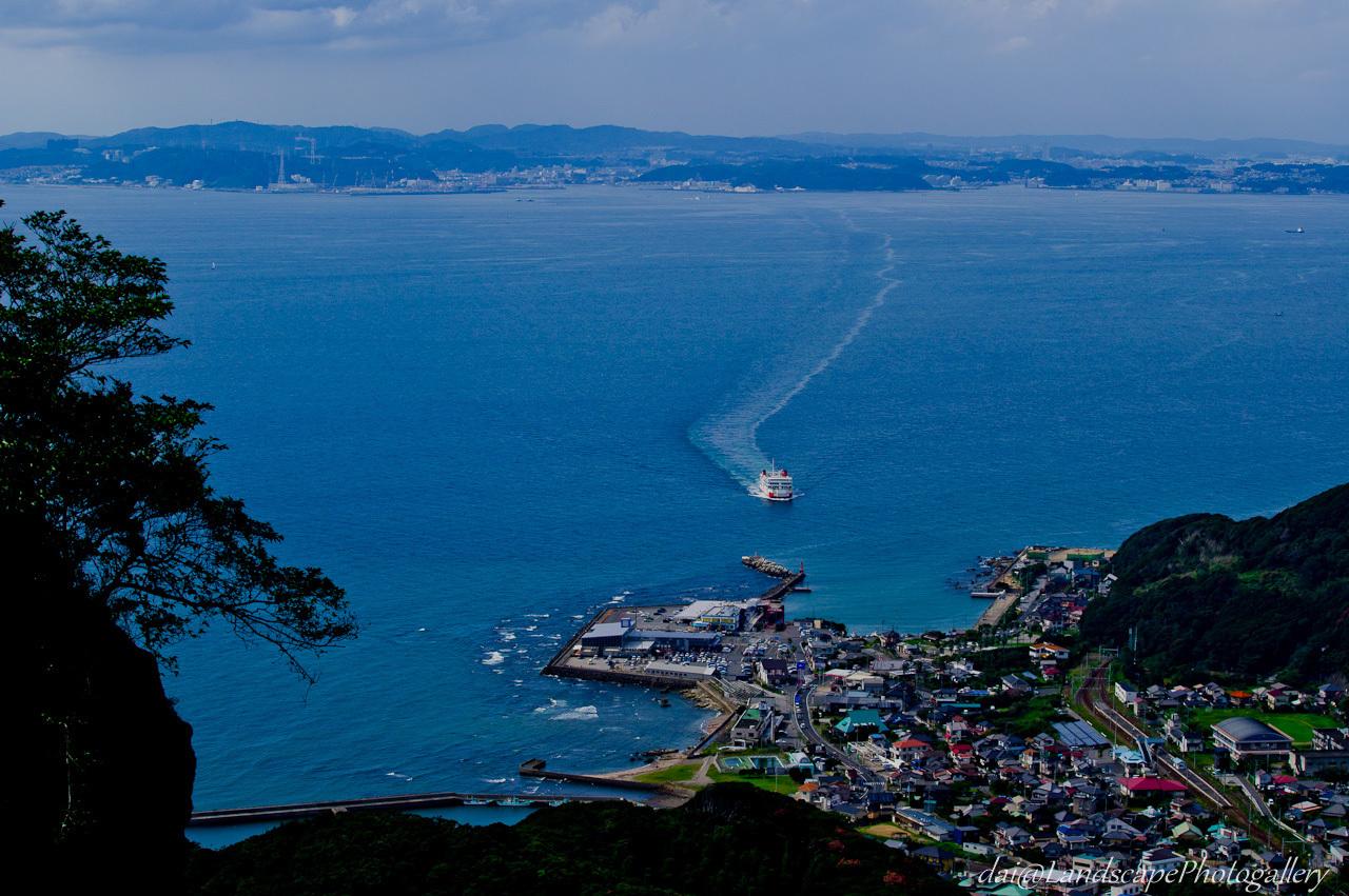 東京湾フェリー遠望