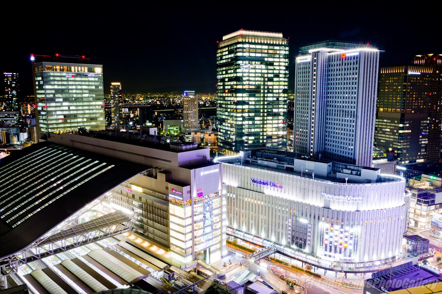 阪急グランドビル展望台夜景