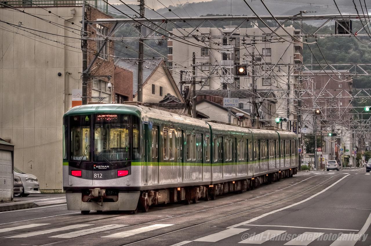 大津市路面電車風景【HDRi】