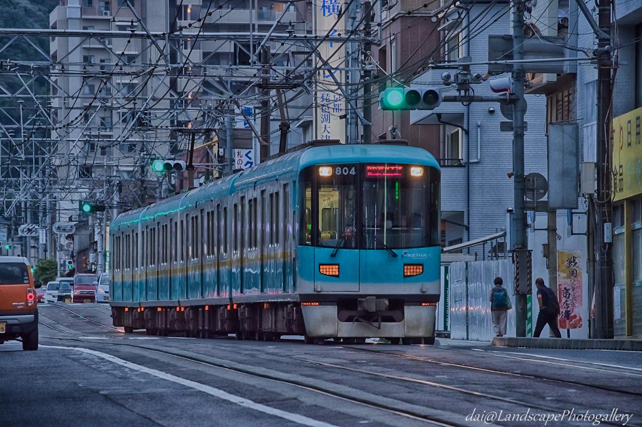 京阪 800系旧塗装電車【HDRi】