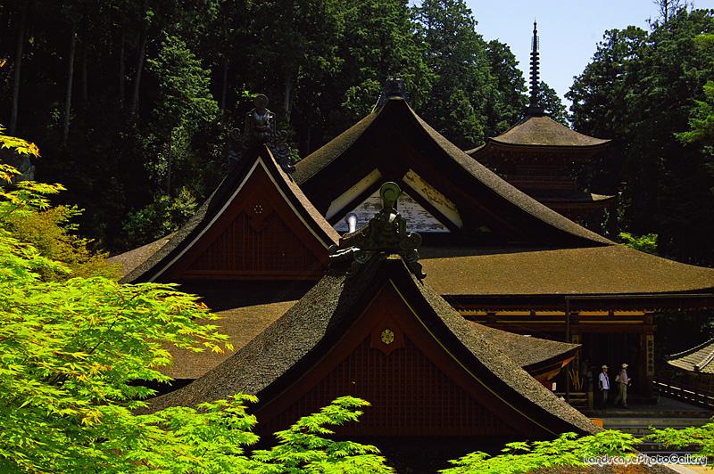 長命寺の風景2