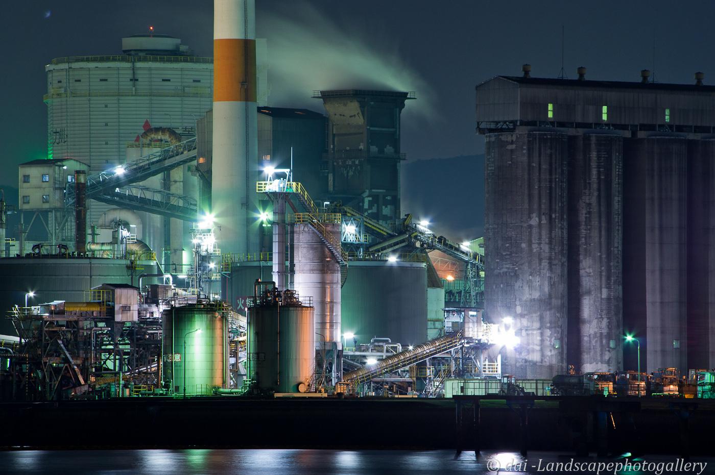 坂出港工場夜景