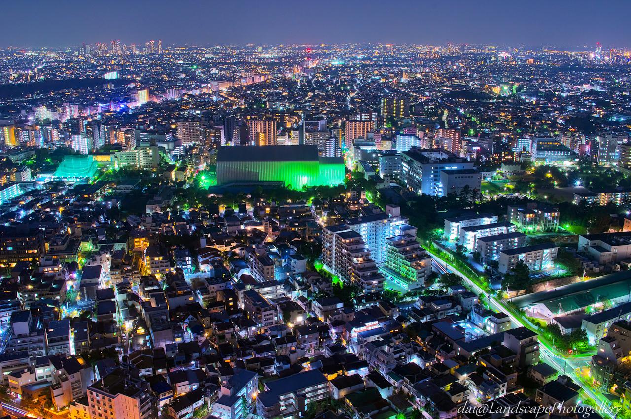 恵比寿ガーデンプレイスタワー夜景
