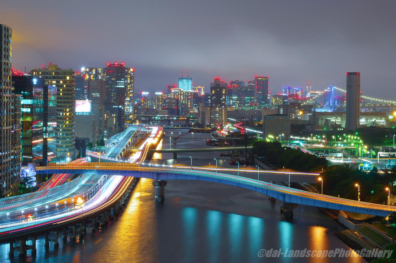 京浜運河夜景