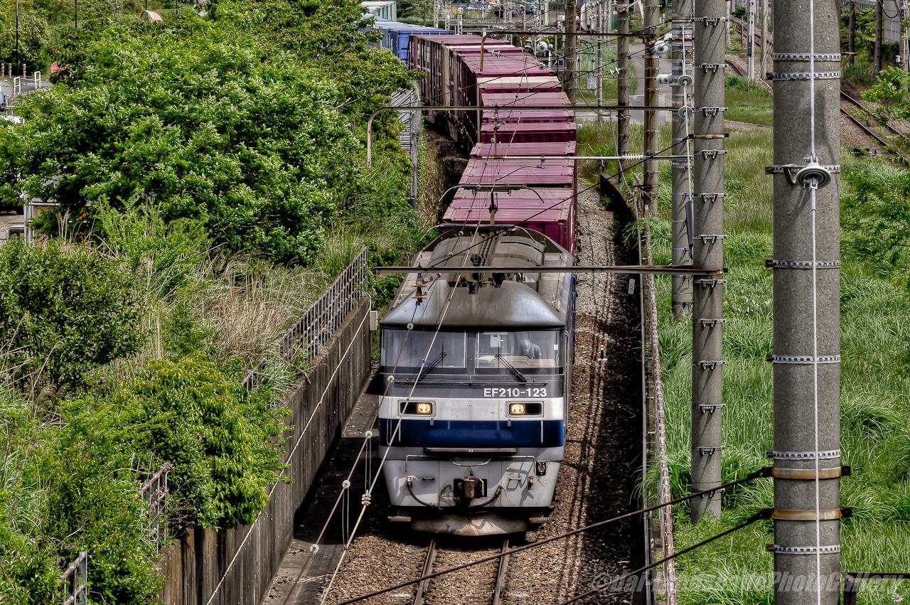 コンテナ列車 4095レ【HDRi】