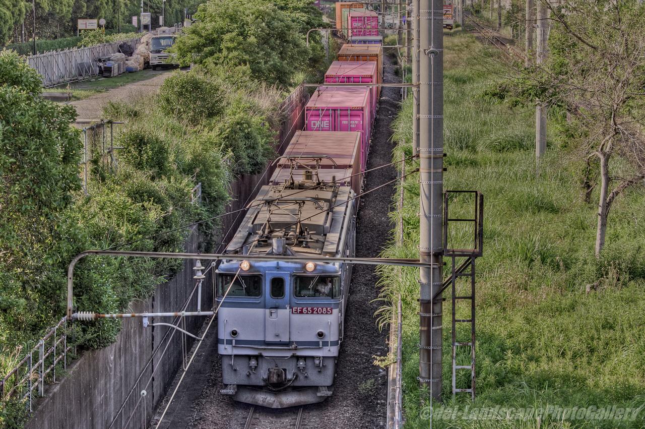 コンテナ列車 4073レ【HDRi】