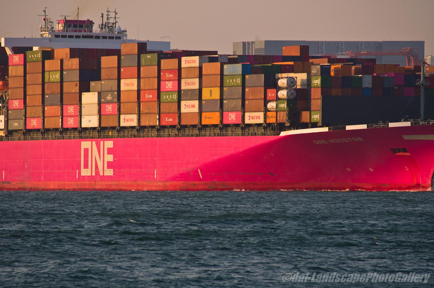 ONE HOUSTON東京港出航風景