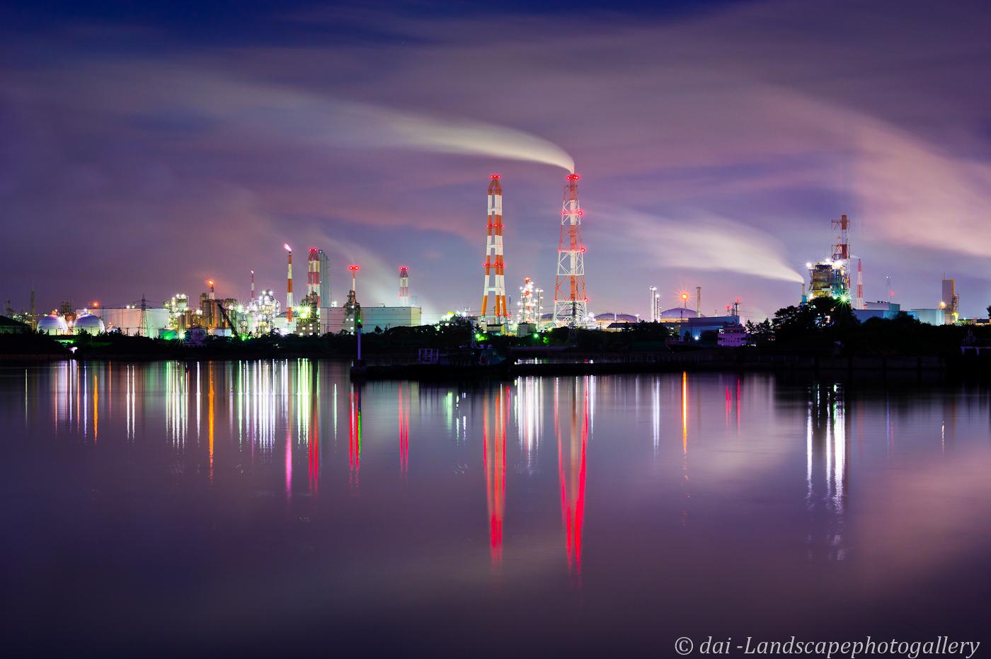 千葉港袖ヶ浦工場夜景