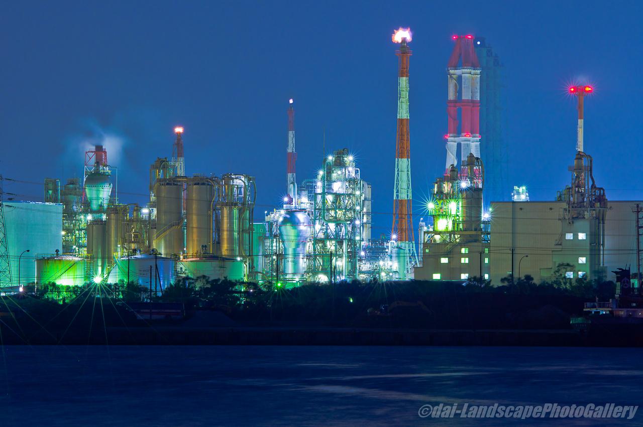 千葉港袖ヶ浦地区工場夜景