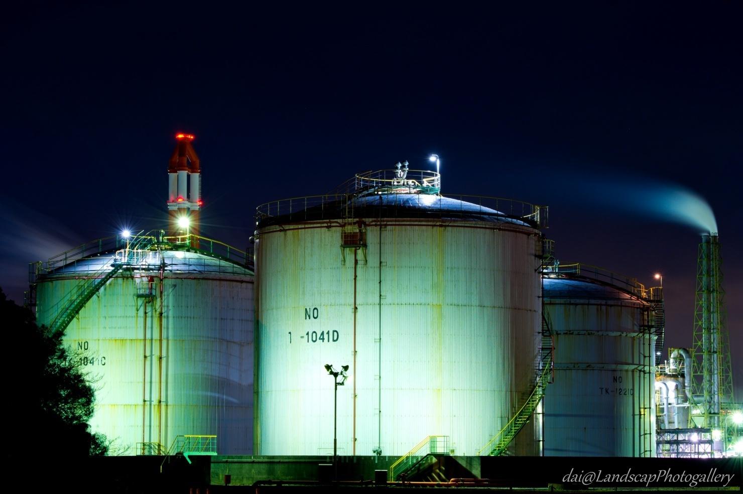 袖ケ浦工場夜景