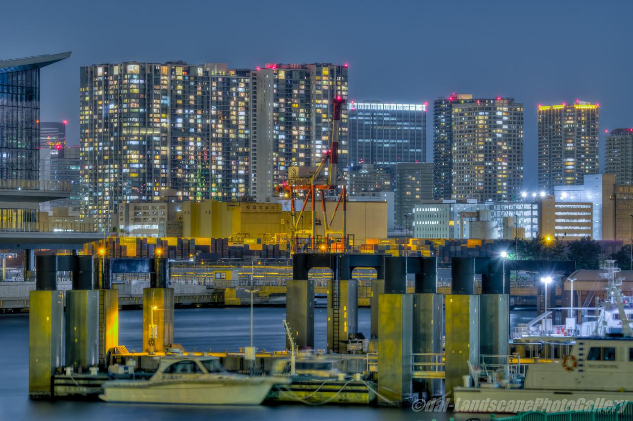 東京港夜景【HDRi】