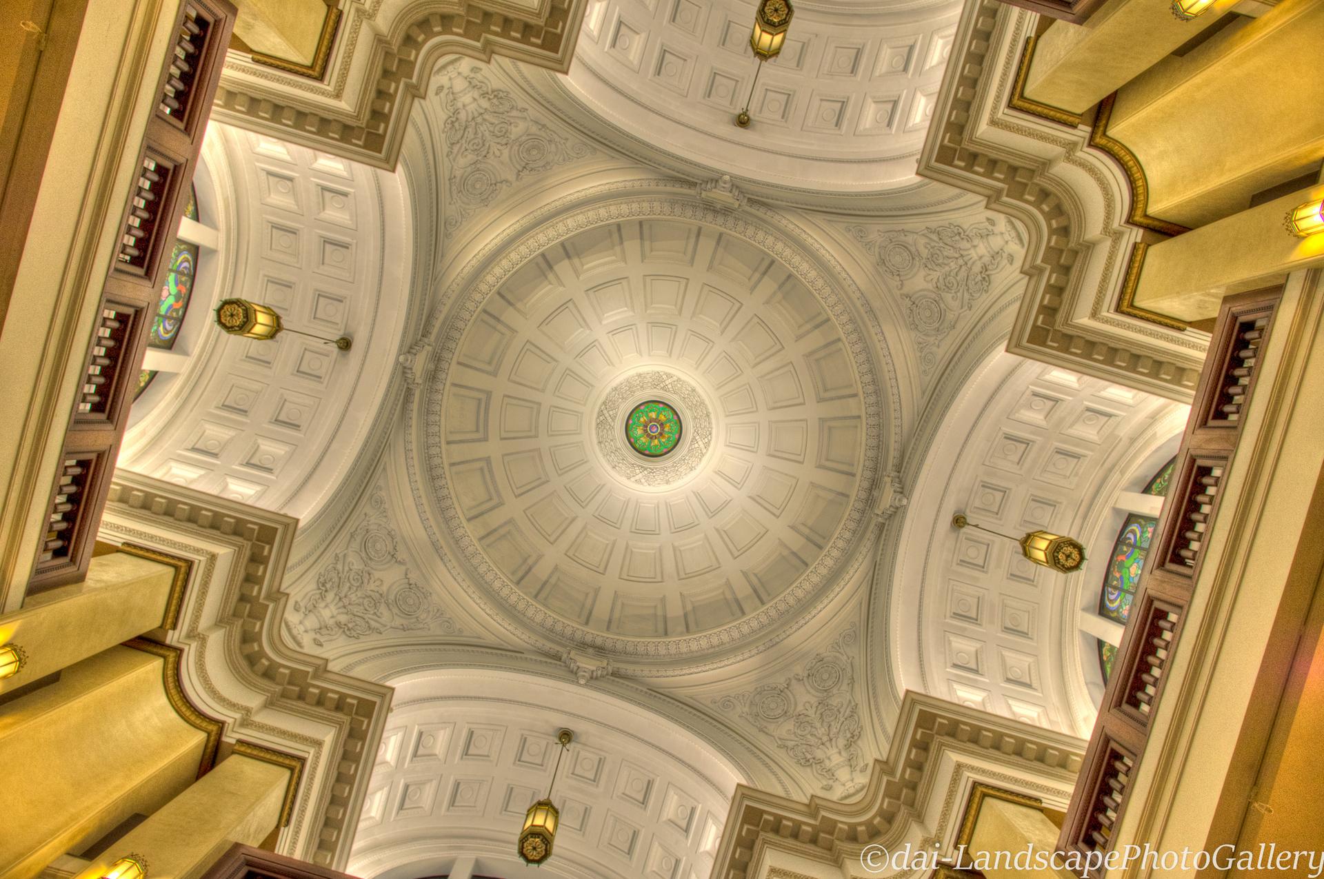 国立科学博物館 日本館天井【HDRi】