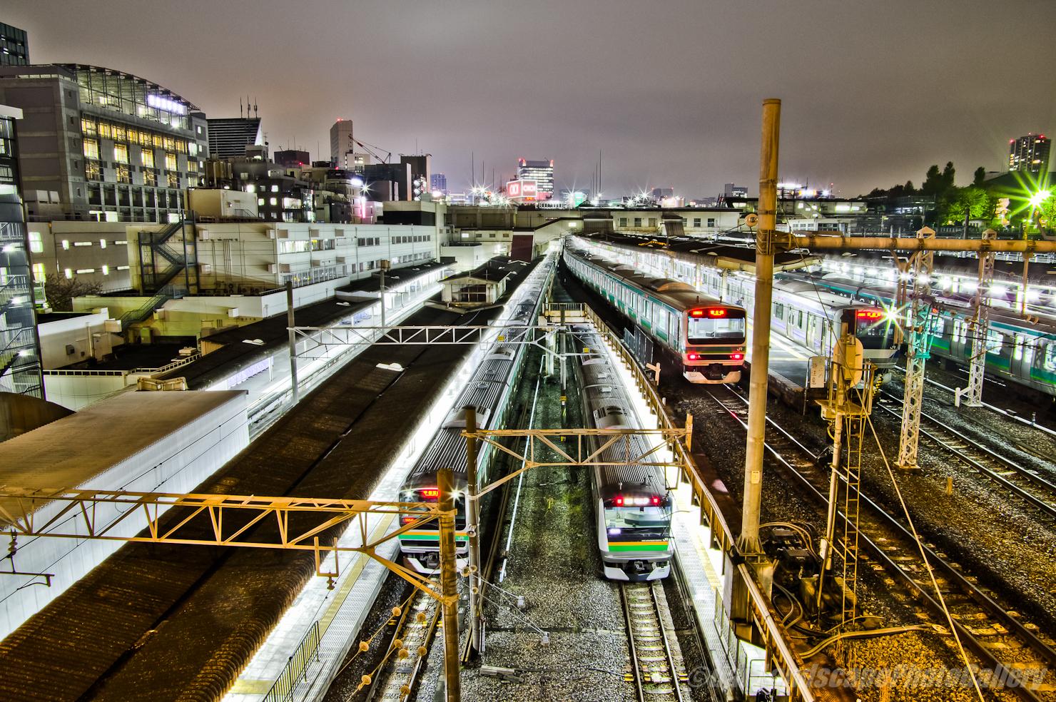 両大師橋夜景【HDRi】