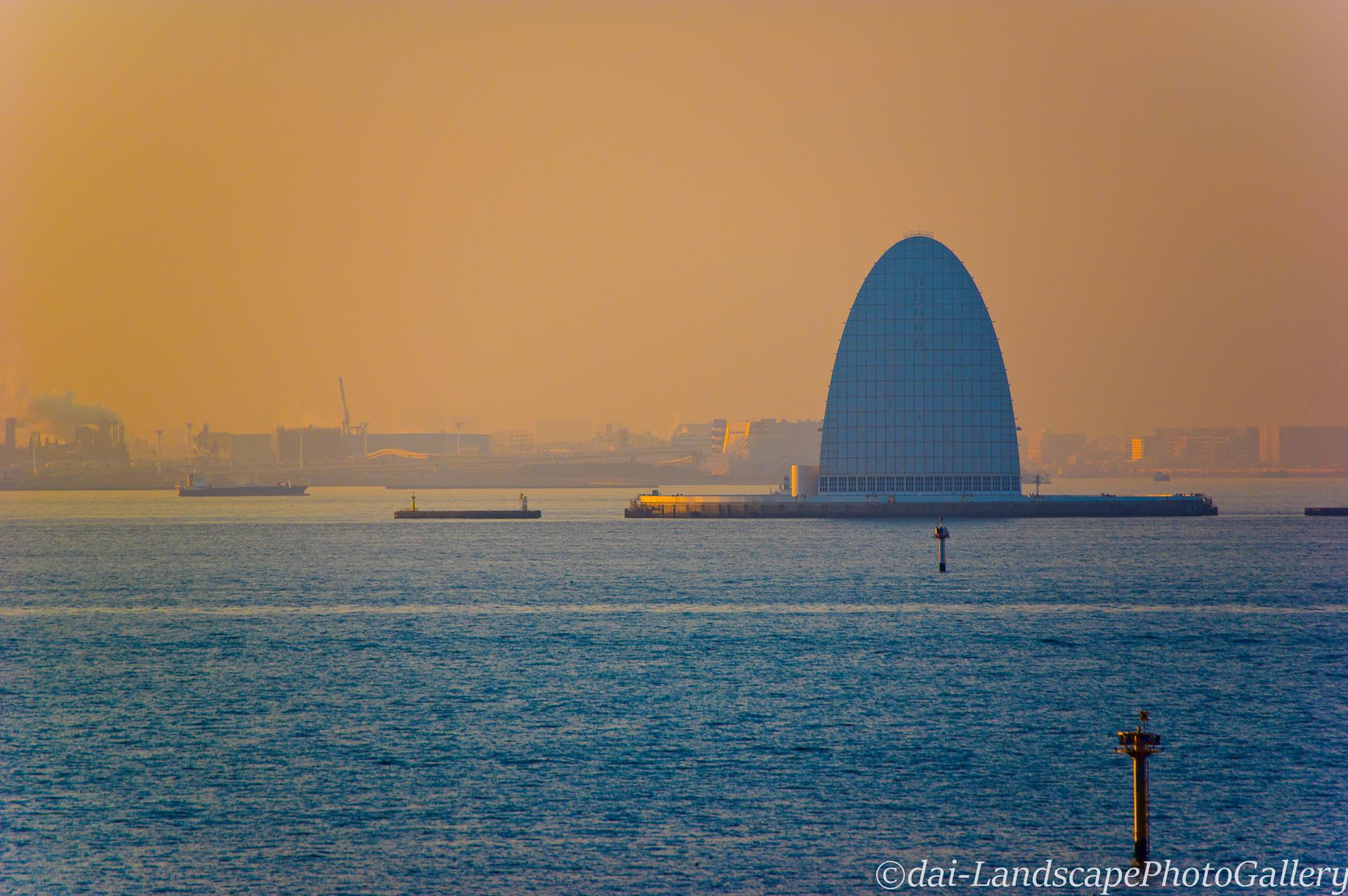 東京湾夕景~海ほたるにて~