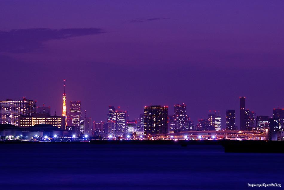 トワイライト 東京夜景