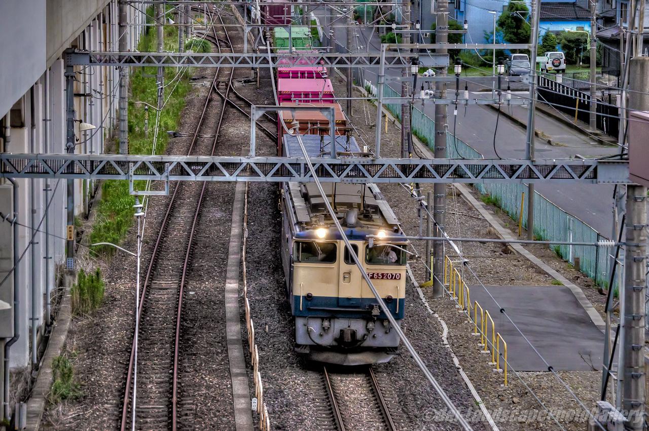4073レコンテナ列車【HDRi】
