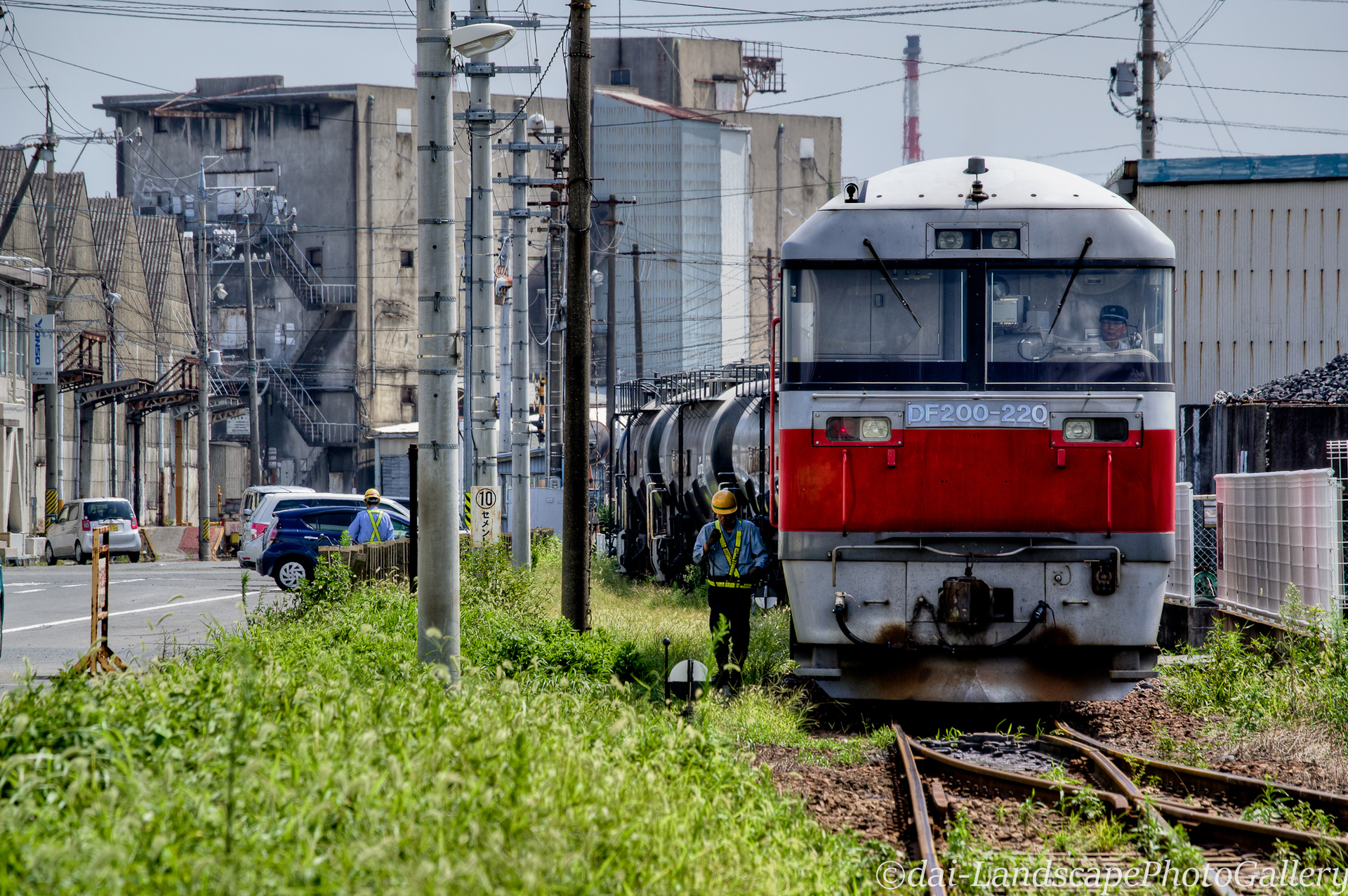四日市港線 セメント貨物列車【HDRi】