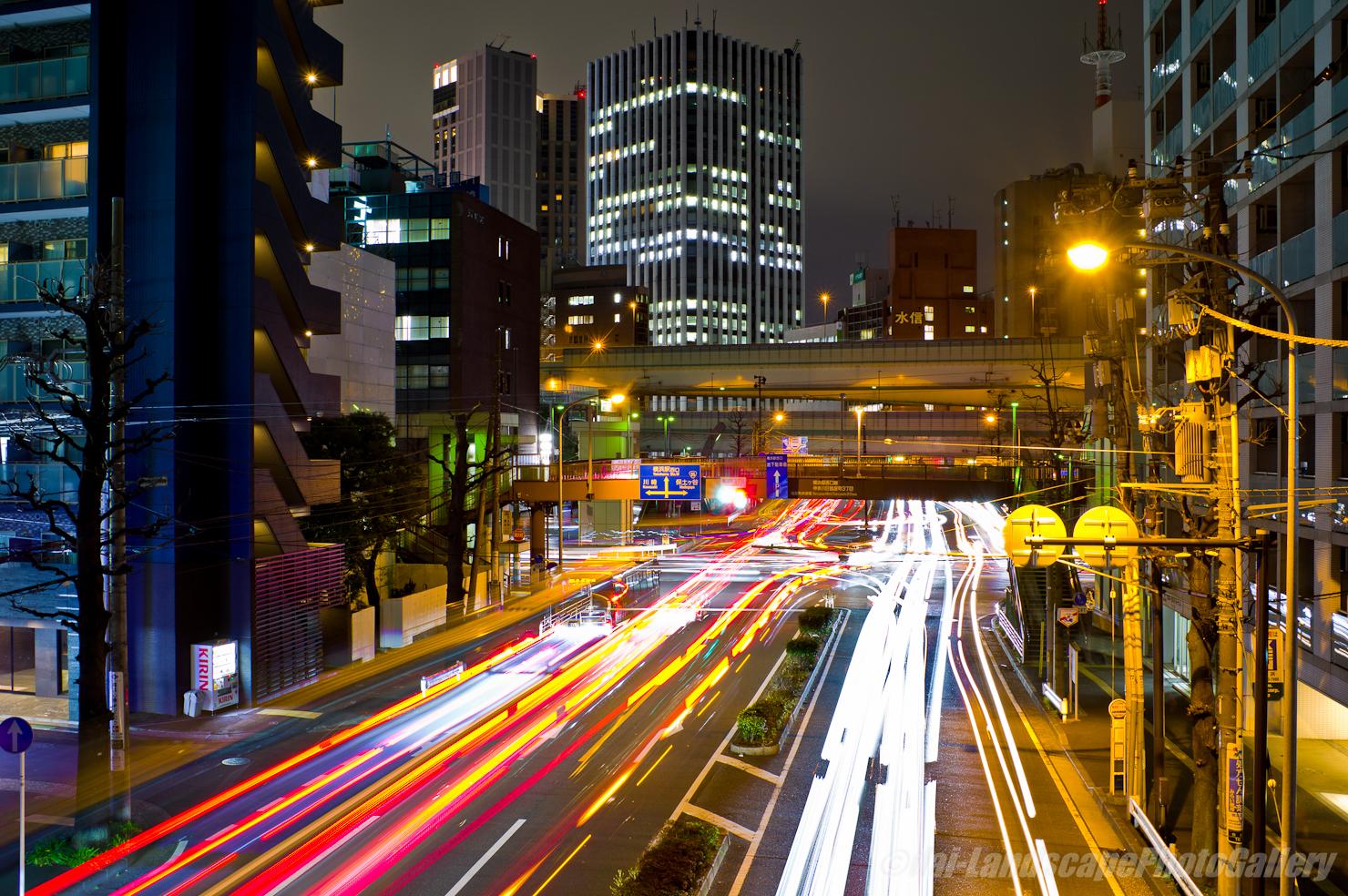 上台橋夜景