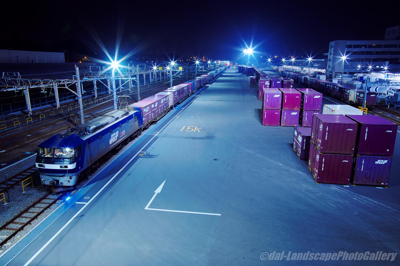横浜羽沢駅 夜景
