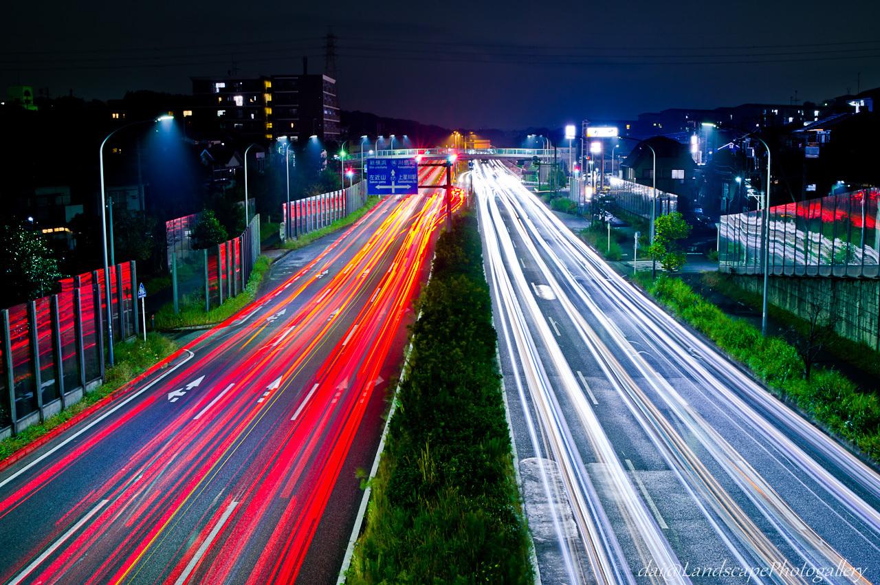 横浜環状2号夜景