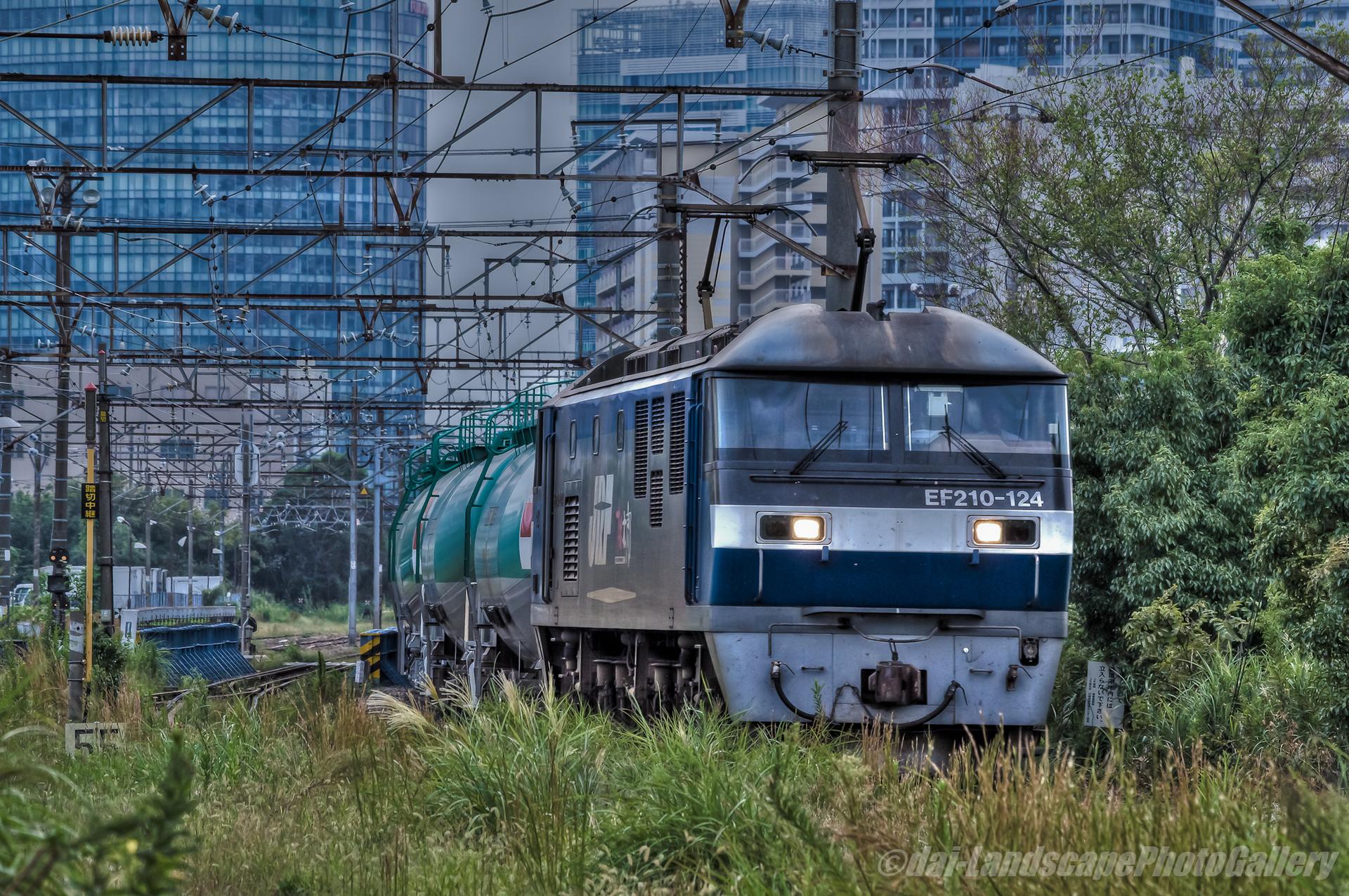 高島線 石油貨物列車【HDRi】