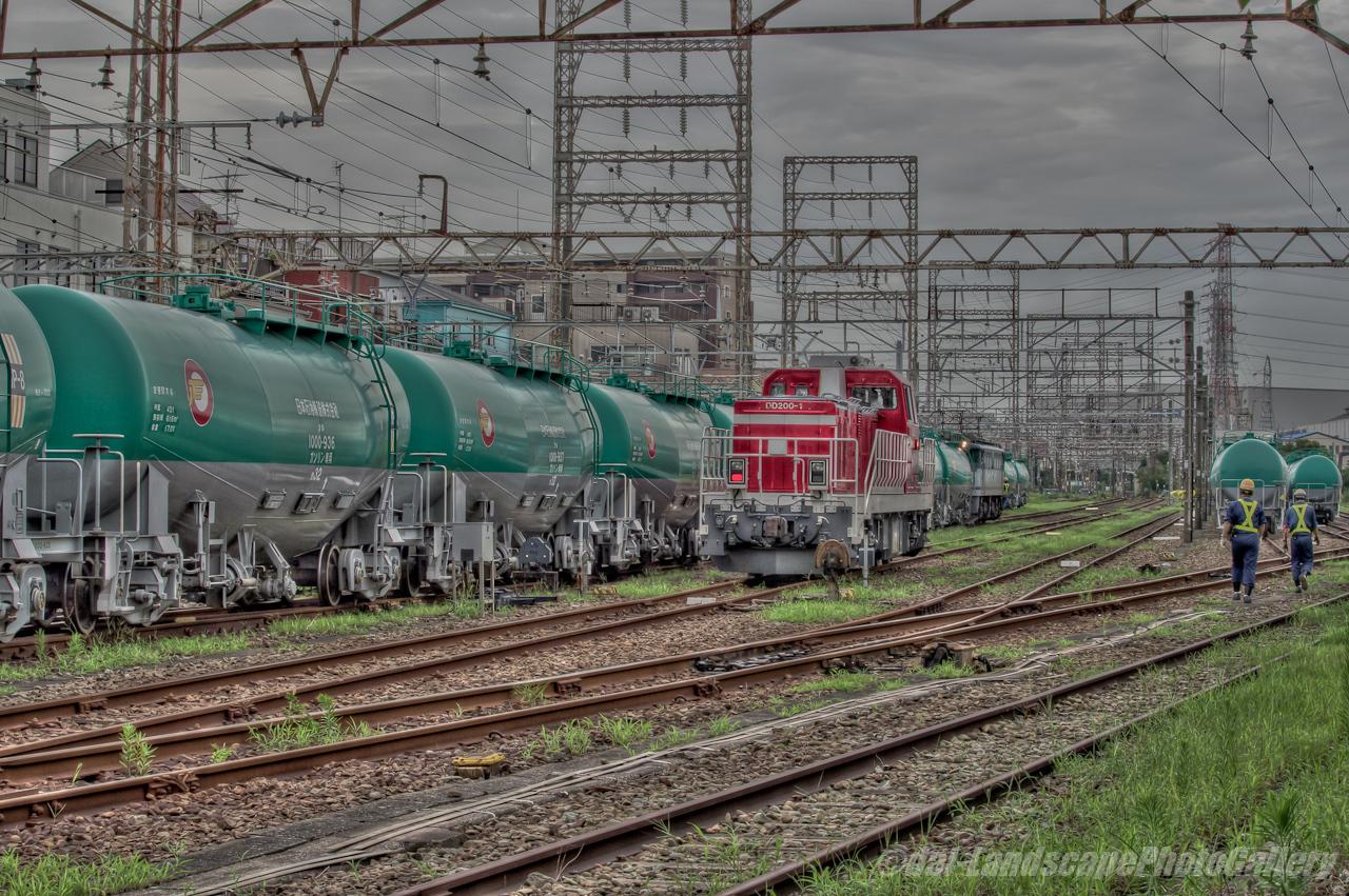 安善駅の風景【HDRi】