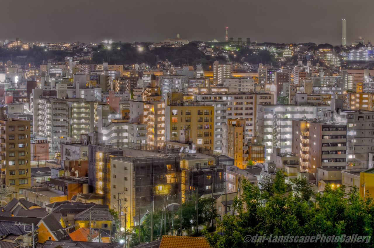 横浜市街夜景【HDRi】