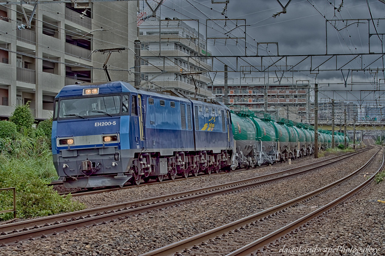 EH200石油専用列車【HDRi】